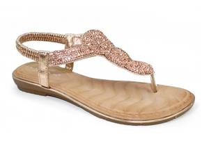 Lunar Sandals - Carson JLH080 Rose Gold