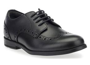 Start-rite Shoes - Brogue Snr Black Leather