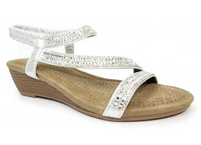 Lunar Sandals - Blair JLH137 Silver