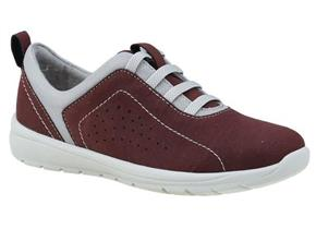 Earth Spirit Shoes - Tuscon Burgundy