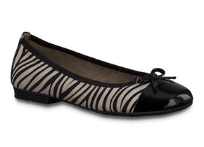 Jana Shoes - 22109-24 Black Zebra
