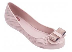 Zaxy Shoes - Lace Bow Pink