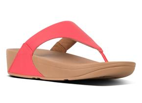 FitFlop™ Sandals - Lulu™ Leather Passion Red