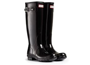 Hunter Original Tall Gloss - Black