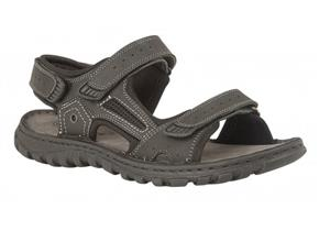 Lotus Sandals - Douglas Black