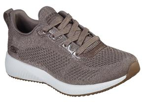Skechers Shoes - Bobs Squad 117006 Taupe