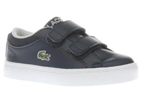 Lacoste Trainers - Straightset Infant Navy