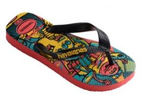 Havaianas Sandals - Kids Radical Coral Multi