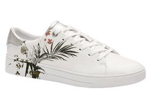 Ted Baker Shoes - Penil White Print