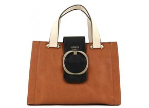 Guess Bags - Mooney Girlfriend Satchel Cognac