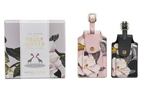 Ted Baker Set of Two Luggage Tags - Opal
