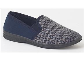Pettits Slippers - MS219 Navy