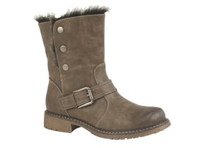 Cats Eye Boots - G830 Brown