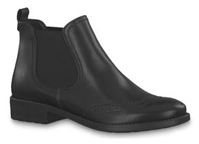 Tamaris Womens Boots - 25493-21 Black Leather