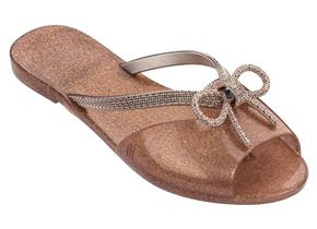 Melissa Sandals - Ela Glam Rose Glitter
