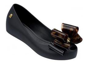 Melissa Shoes - Ultra Girl Triple Twin Bow Black