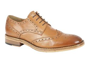 Pettits Shoes - Kensington M929 Tan