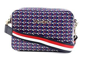 Tommy Hilfiger Bags - Iconic Crossover Navy Monogram