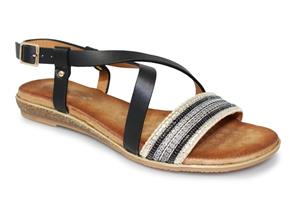 Lunar Sandals - Heston JLH929 Black