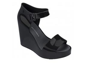 Melissa Shoes - Mar Wedge Black