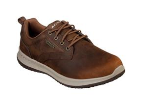 Skechers Shoes - Delson Antigo 65693 Dark Brown