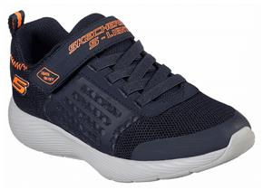 Skechers Shoes - Dyna Lights 90740 Navy Orange