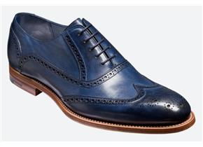 Barker Shoes - Valiant Navy