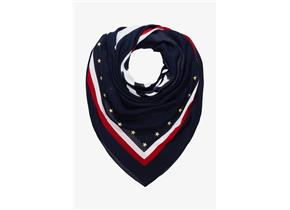 Tommy Hilfiger Accessories - Bold Tommy Square Scarf Navy Multi