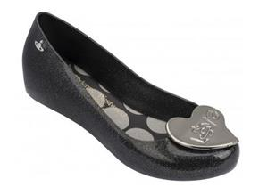 Vivienne Westwood + Melissa Shoes - VW Ultragirl 18 Black Glitter