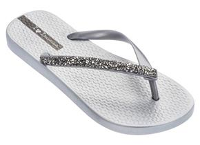 Ipanema Sandals - Glam Special Crystal Silver