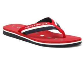 Tommy Hilfiger Sandals - Tommy Loves NY Red