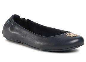 Tommy Hilfiger Shoes - TH Hardware Ballerina Navy