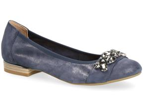 Caprice Shoes - 22155-22 Navy