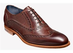 Barker Shoes - Grant Paisley Walnut