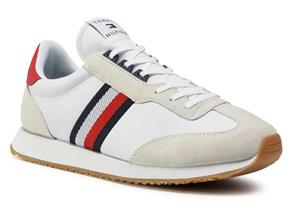 Tommy Hilfiger Shoes - Lo Mix Runner Stripe White