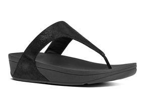 FitFlop™ Sandals - Shimmy™Suede Black