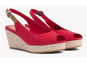 Tommy Hilfiger Sandals - Elba Basic Slingback Red