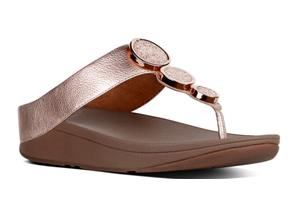 FitFlop™ Sandals - Halo™ Rose Gold
