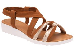 Lotus Sandals - Cordoba ULP154 Tan Gold