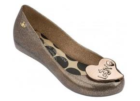 Vivienne Westwood + Melissa Shoes - VW Ultragirl 18 Gold Glitter