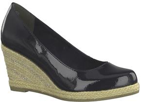 Marco Tozzi Shoes - 22440-22 Navy Patent