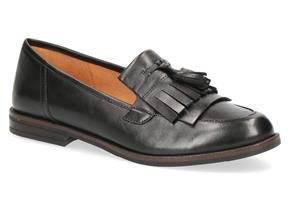 Caprice Shoes - 24200-23 Black Leather