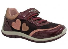 Geox Shoes - Shaxx B8433B Burgundy Patent