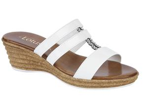 Lotus Sandals - Jolly White Patent