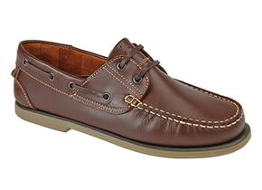 Pettits Shoes - Dek M551 Brown