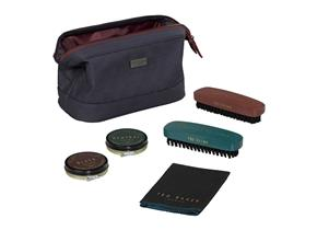 Ted Baker Shoe Shine Kit - 282 Blue