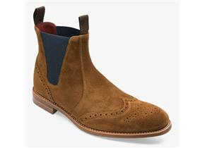 Loake Boots - Hoskins Tan Suede