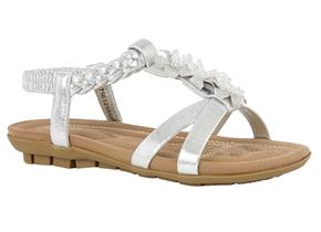 Lotus Sandals - Margarita Silver