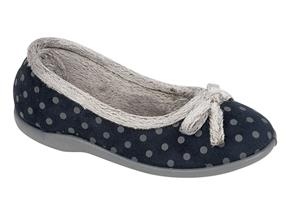 Sleepers Slippers - Louise LS325 Navy