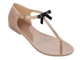 Melissa Sandals - Honey Bow Nude